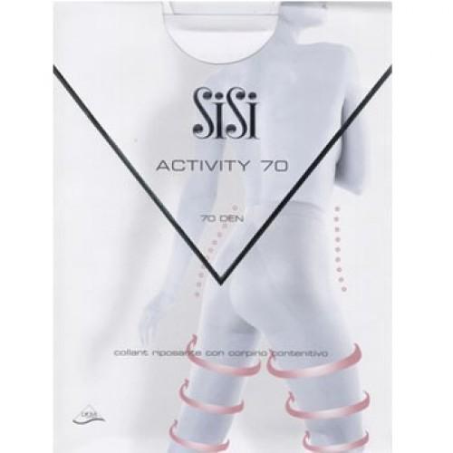 Колготки SiSi Activity размер 2 плотность 50 Den Nero