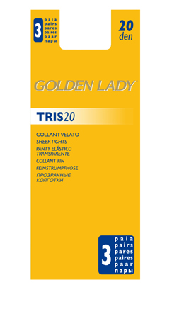 Golden lady - Tris