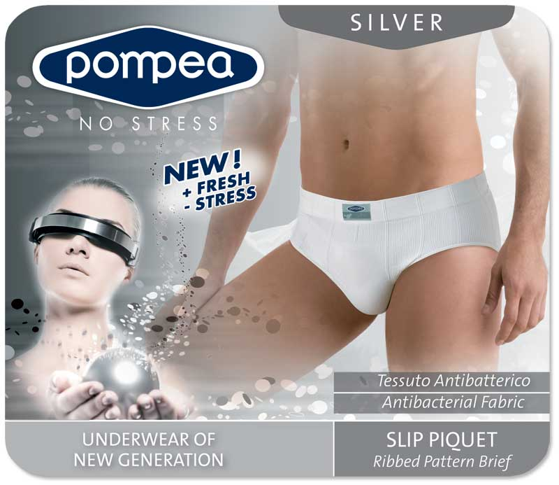Pompea Slip Moving Silver